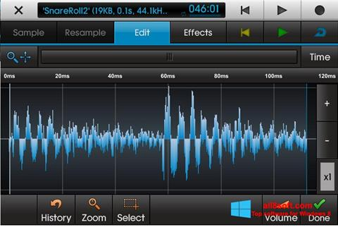 Скріншот NanoStudio для Windows 8