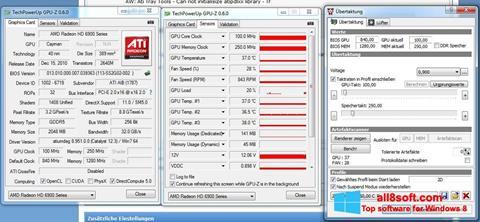 Скріншот ATI Tray Tools для Windows 8