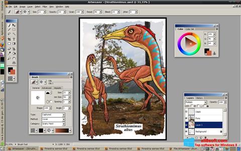 Скріншот Artweaver для Windows 8
