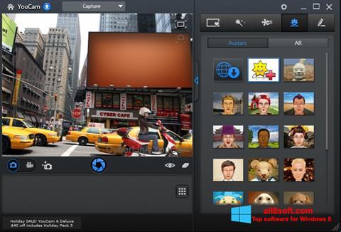 Скріншот CyberLink YouCam для Windows 8