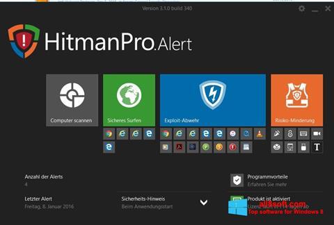 Скріншот HitmanPro для Windows 8