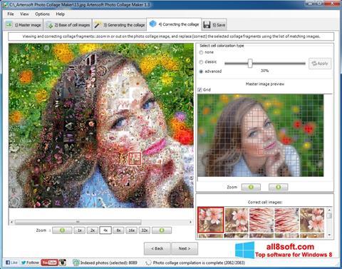 Скріншот Photo Collage Maker для Windows 8