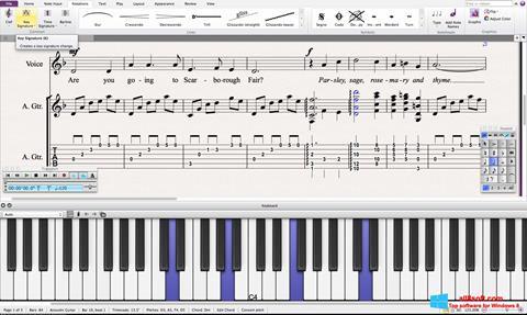 Скріншот Sibelius для Windows 8