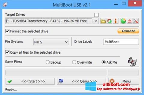 Скріншот Multi Boot USB для Windows 8