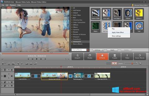 Скріншот Movavi Video Suite для Windows 8