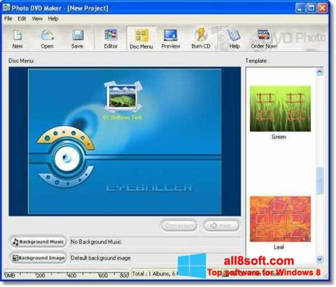 Скріншот DVD Maker для Windows 8