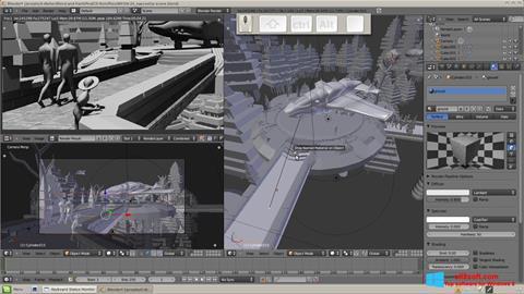 Скріншот Blender для Windows 8