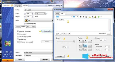 Скріншот Light Image Resizer для Windows 8