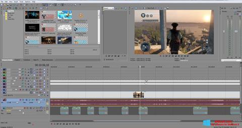 Скріншот Sony Vegas Pro для Windows 8