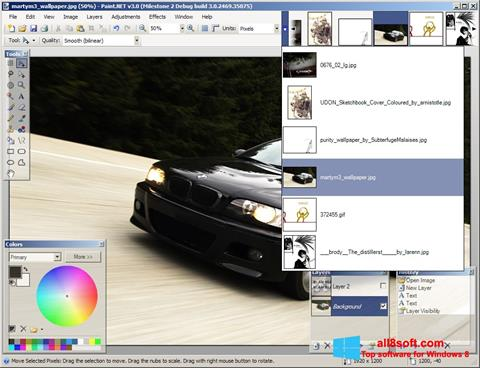 Скріншот Paint.NET для Windows 8
