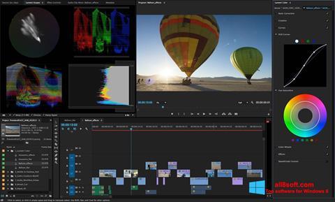 Скріншот Adobe Premiere Pro для Windows 8