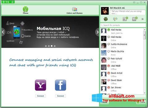 Скріншот ICQ для Windows 8