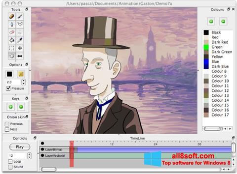 Скріншот Pencil для Windows 8