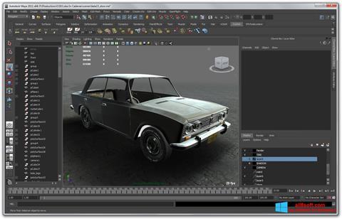Скріншот Autodesk Maya для Windows 8