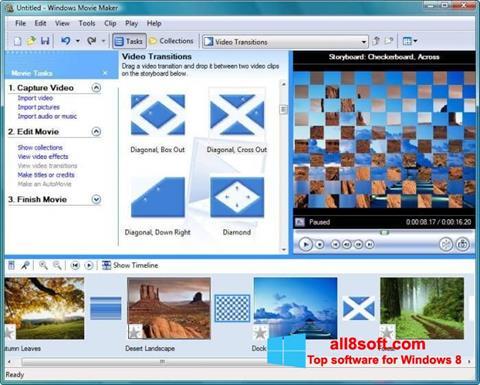 Скріншот Windows Movie Maker для Windows 8