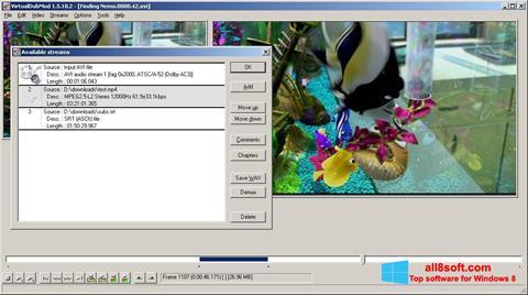 Скріншот VirtualDubMod для Windows 8