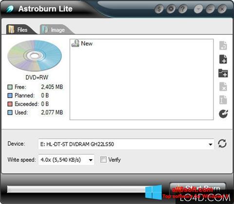Скріншот Astroburn Lite для Windows 8