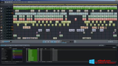 Скріншот MAGIX Music Maker для Windows 8