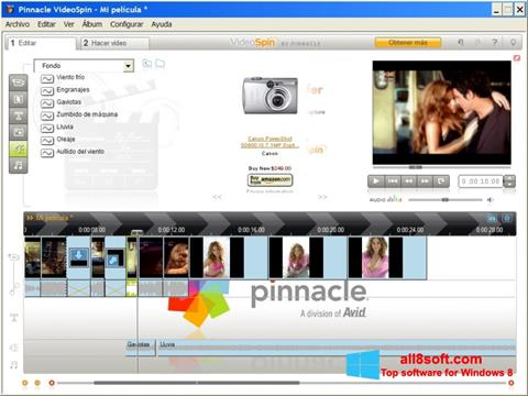 Скріншот Pinnacle VideoSpin для Windows 8