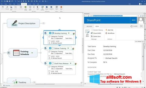 Скріншот MindManager для Windows 8
