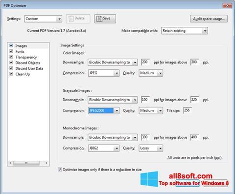 Скріншот Adobe Acrobat Pro DC для Windows 8