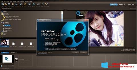 Скріншот ProShow Producer для Windows 8