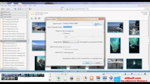 Скріншот Picasa для Windows 8