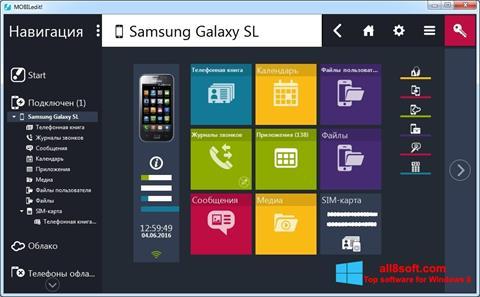 Скріншот MOBILedit! для Windows 8