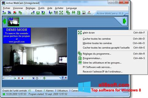 Скріншот Active WebCam для Windows 8