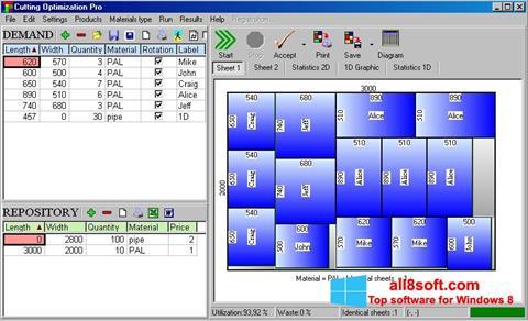 Скріншот Cutting для Windows 8