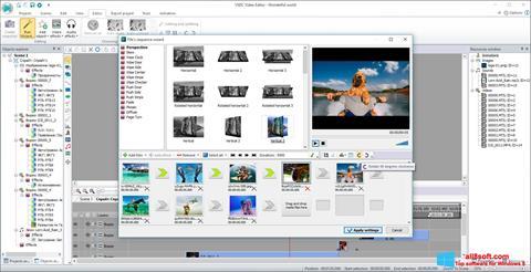 Скріншот VSDC Free Video Editor для Windows 8