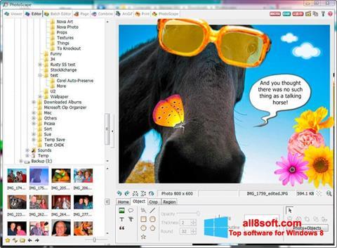 Скріншот PhotoScape для Windows 8