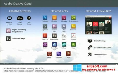 Скріншот Adobe Creative Cloud для Windows 8