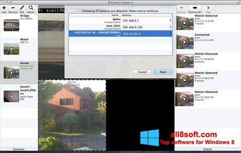 Скріншот IP Camera Viewer для Windows 8