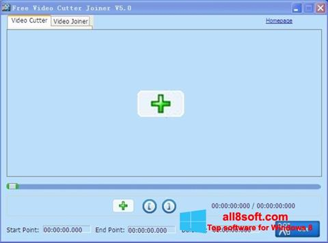 Скріншот Free Video Cutter для Windows 8