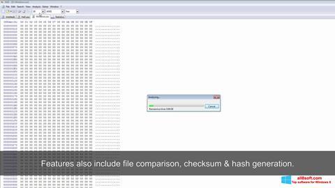 Скріншот Hex Editor для Windows 8