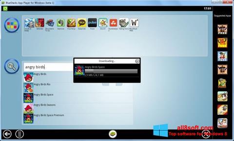 Скріншот BlueStacks для Windows 8