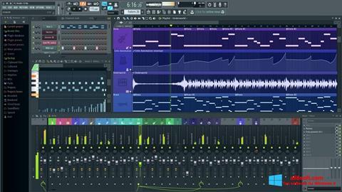 Скріншот FL Studio для Windows 8