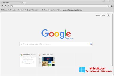 Скріншот Google Chrome для Windows 8
