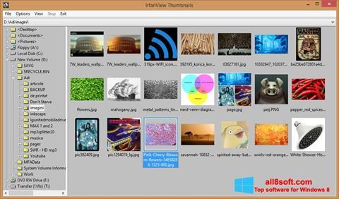 Скріншот IrfanView для Windows 8