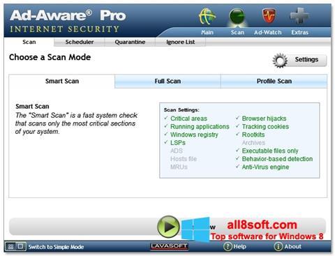 Скріншот Ad-Aware для Windows 8