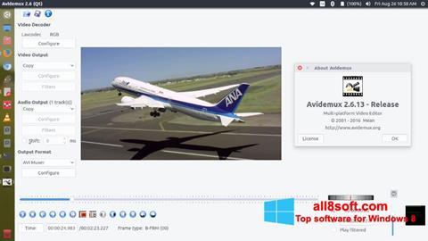 Скріншот Avidemux для Windows 8